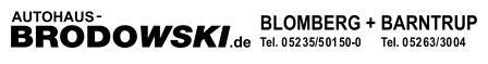 Logo von Autohaus Klaus Brodowski GmbH & Co. Kommanditgesellschaft